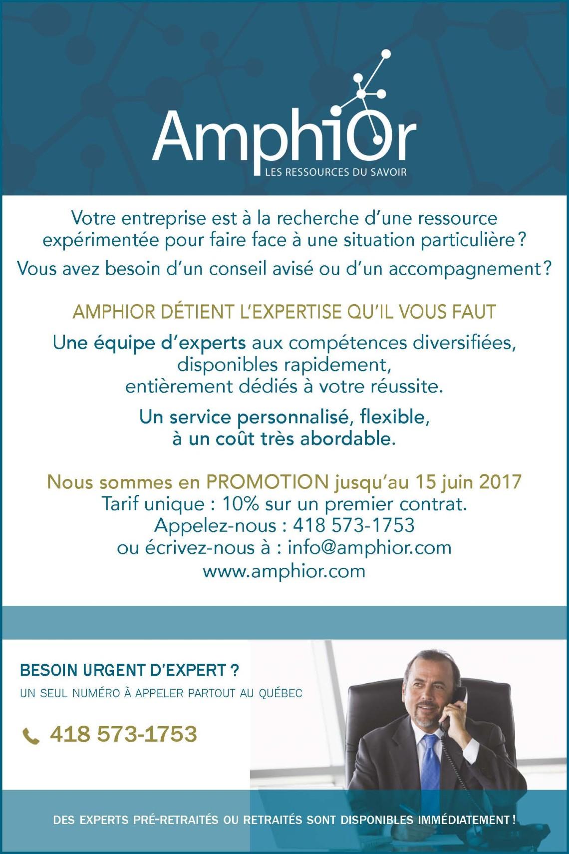 PROMOTION AMPHIOR 201705